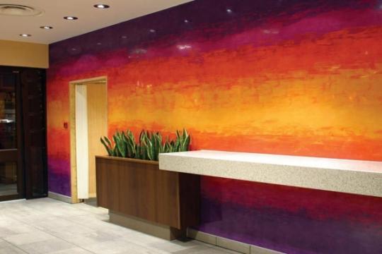 Tecnicas de pintura decorativa for Decoracion de interiores en pintura
