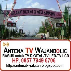 Jual ANTENA TV WAJANBOLIC Sampang Madura