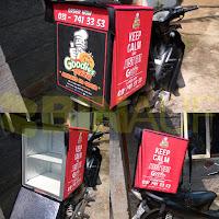 jual Tas delivery makanan Surabaya Pizza goodies