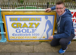 Crazy Golf in Skegness