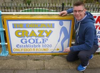 Crazy Golf in Skegness