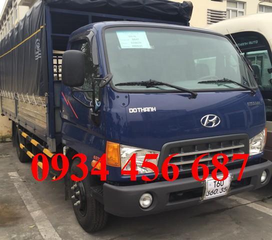 Hyundai HD88 thùng mui bạt