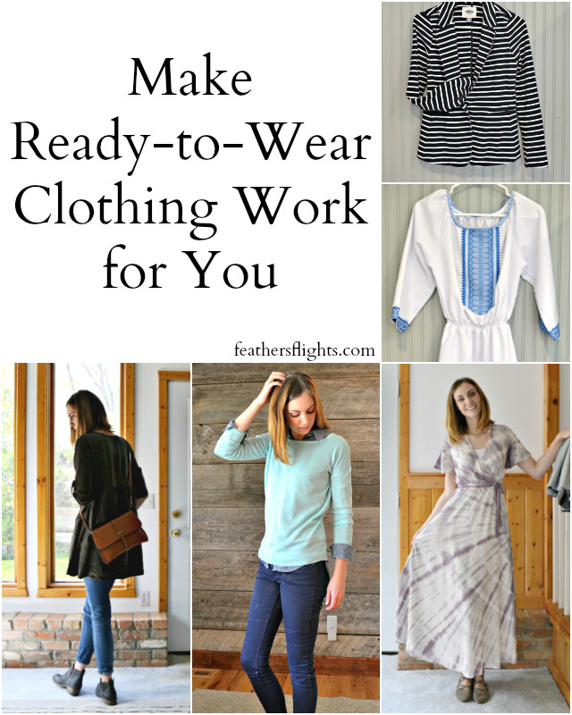 Make Ready-to-Wear Clothing Work with your Handmade Wardrobe