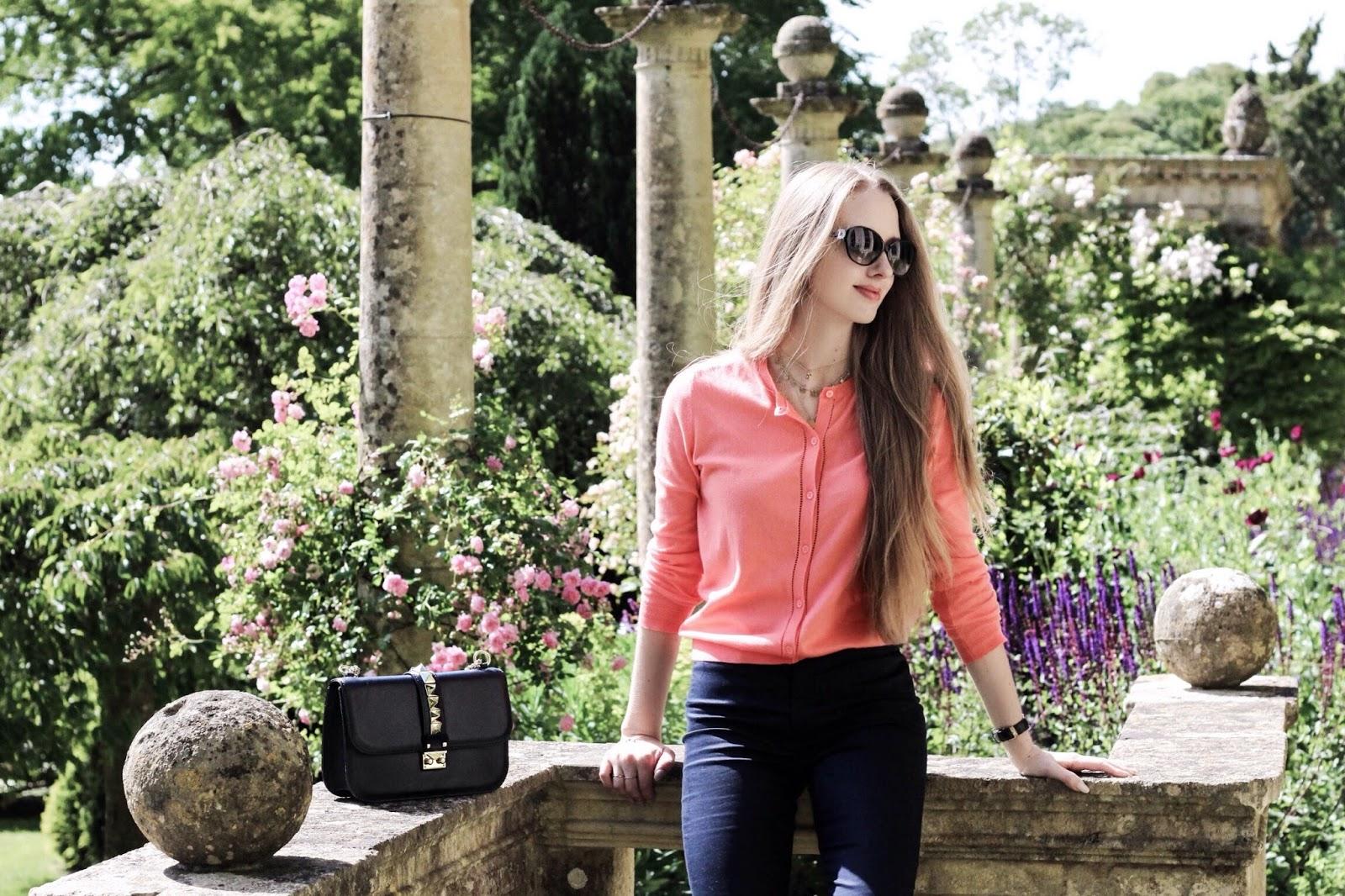 Beautiful UK Landscaped Gardens Flowers and Pillars