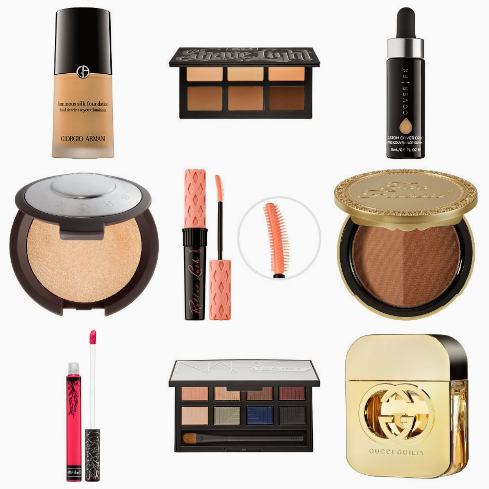Current Makeup Wishlist
