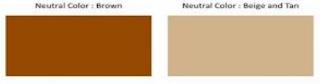 Mengenali Warna Coklat