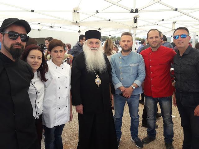 Εθελοντική συμμετοχή της Τουριστικής σχολής ΙΕΚ Πελοποννήσου στην εκδήλωση του Μητροπολίτη Αργολίδας για τον Όσιο Λουκά