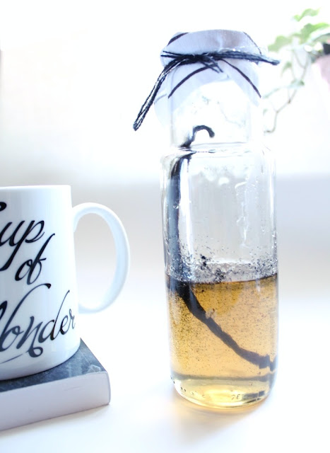 Homemade Vanilla Bean Syrup- Better than the Coffee Shop!