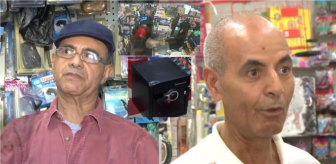 Bodegueros dominicanos enfrentan atracadores en NJ impidiendo que se llevaran la caja fuerte