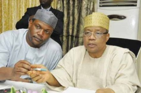 IBB and Son Mohammed Babangida