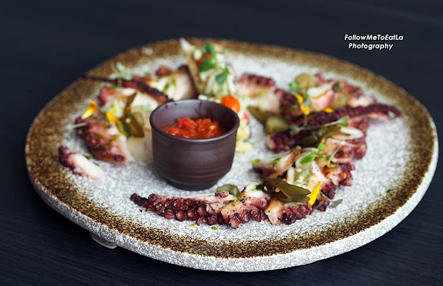 Grilled Fremantle Octopus (300gms) Sweet & Spicy Red Pepper Relish, Homemade Pickles RM 135