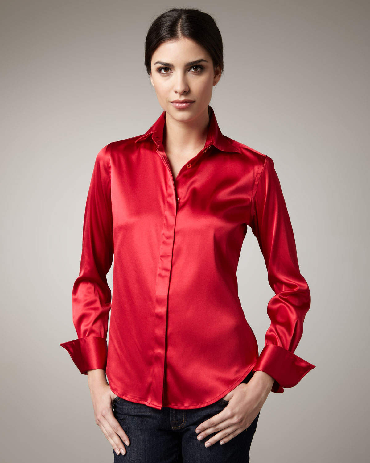 Find unbuttoned blouse Stock Images in HD and millions of other royalty-free stock photos, illustrations, and vectors in the Shutterstock collection. Thousands of new, high-quality pictures added every day.