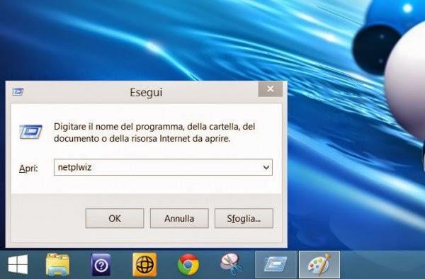 Accesso a Windows 8 e 8.1: come togliere la password