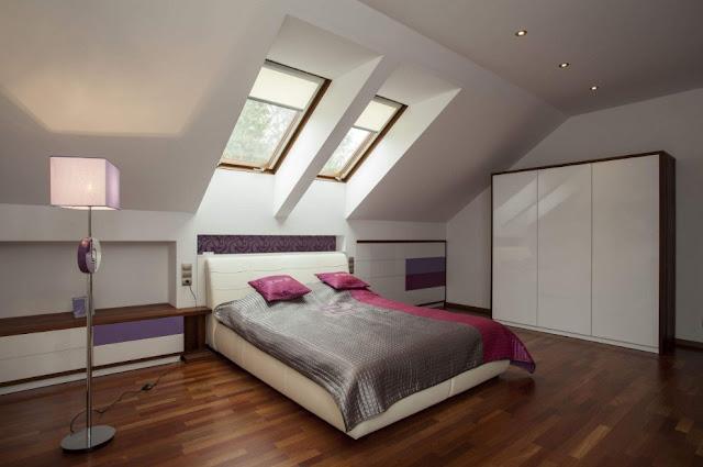 desain kamar tidur utama minimalis ukuran 3x3