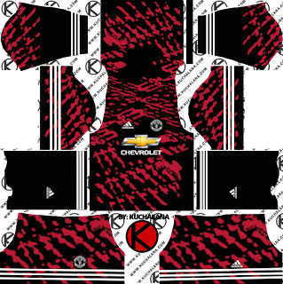 Manchester United x adidas Digital 4th Kits Dream League Soccer Kits