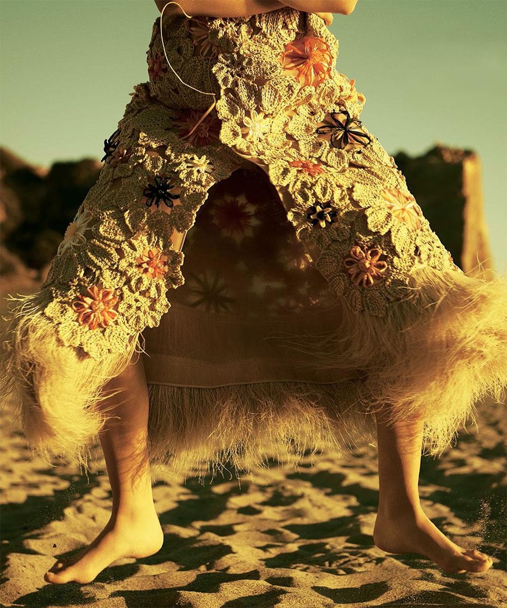 knitGrandeur: Crochet Dressing
