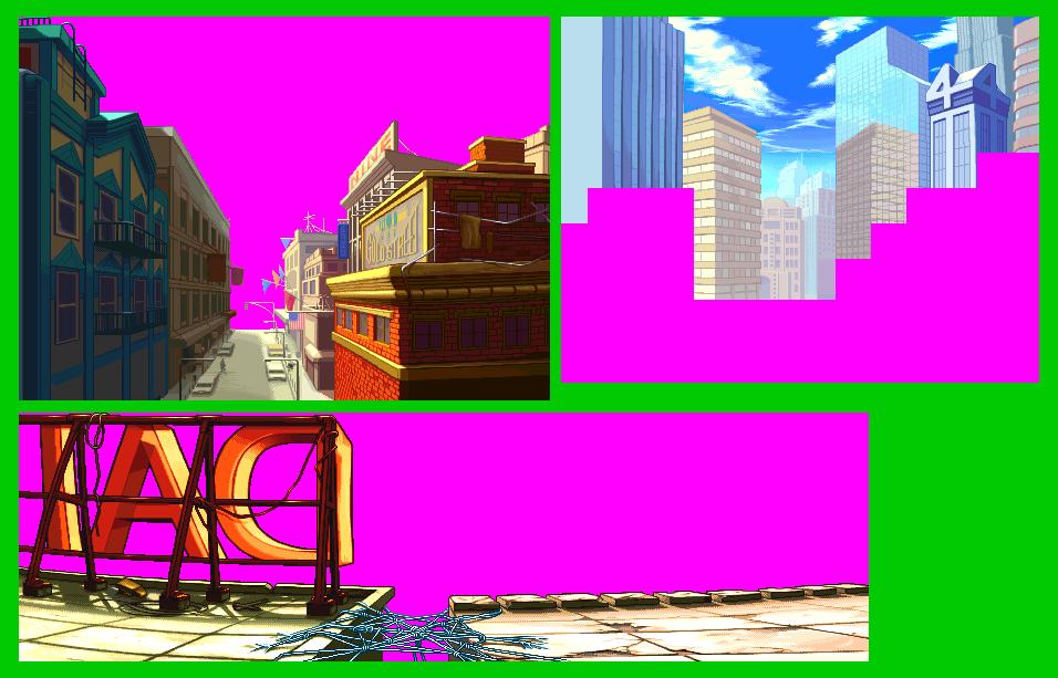 Sprite Fx Sprite Background City