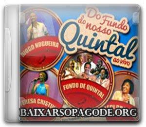 CD Do Fundo Nosso Quintal - Ao Vivo (2012)