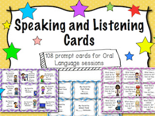 https://www.teacherspayteachers.com/Product/Speaking-and-Listening-Prompt-Cards-2101422
