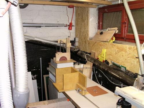 michels bastelbude werkstatt neu einrichten. Black Bedroom Furniture Sets. Home Design Ideas