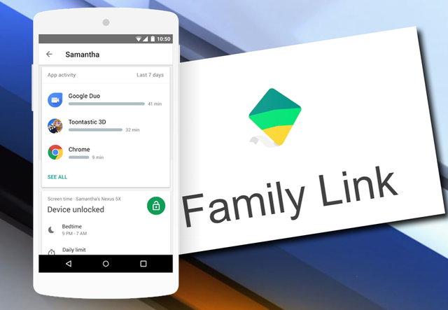 Parental Control App: Google Family Link for Android