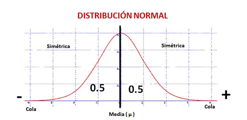 Caracteristicas De Una Distribucion Normal