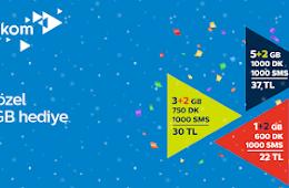 Trk Telekom Mobil (AVEA) Yeni Yl Frsat Kampanyas 2017