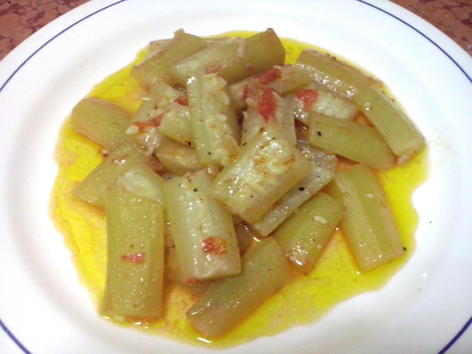 Katrina in cucina ricetta siciliana zucchina lunga a for Ricette in cucina