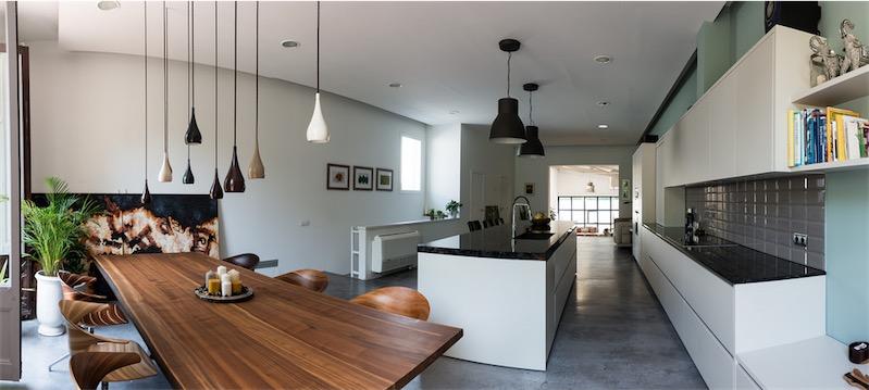 Reforma loft de estilo industrial neoyorkino loft for Cocina industrial tipo loft