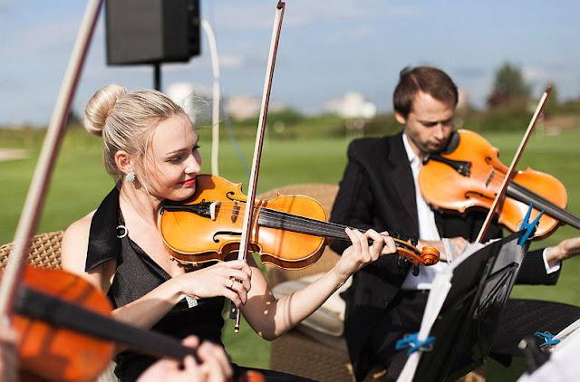 скрипачи выездная церемония