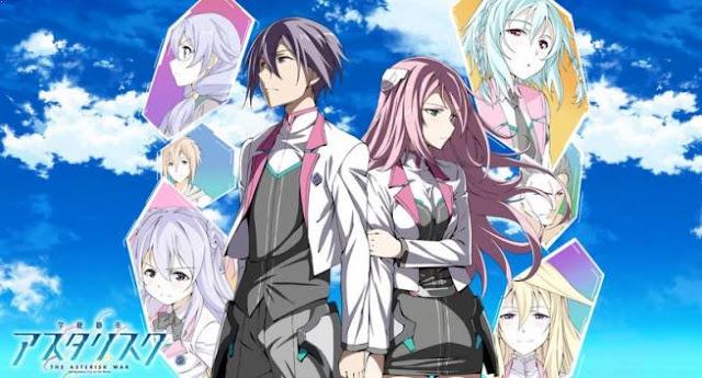 Gakusen Toshi Asterisk - Anime Action Romance Harem Terbaik