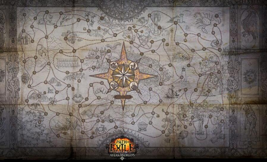 Poe Atlas progression Maps will merge to standard Atlas