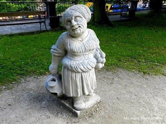 jardines del Palacio de Mirabell, Salzburgo (austria)