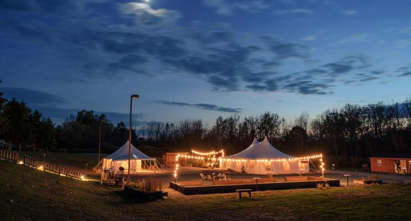 Ithaca by Firelight Camps Wedding Venue