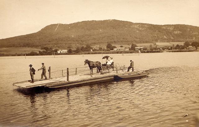hockanum ferry northampton to hadley photo