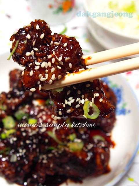 resep korean sweet crispy chicken