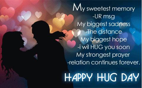 Happy Hug Day 3D Wallpapers Download