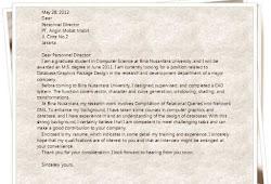 Contoh Surat Penolakan Lamaran Kerja Tatausahanet