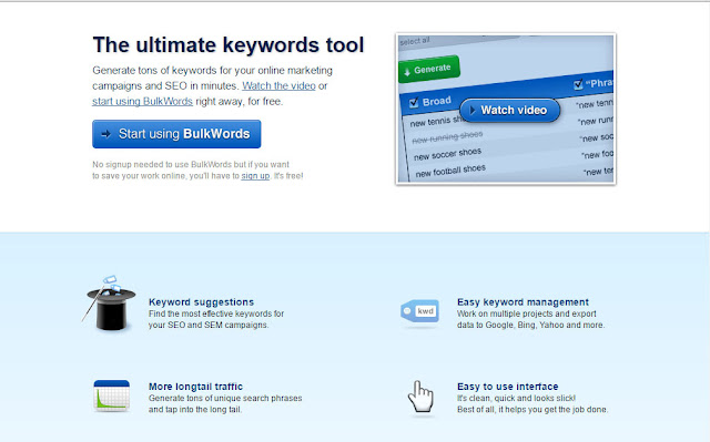 how to Generate tons of keywords for your online marketing campaigns and SEO in minutes.?