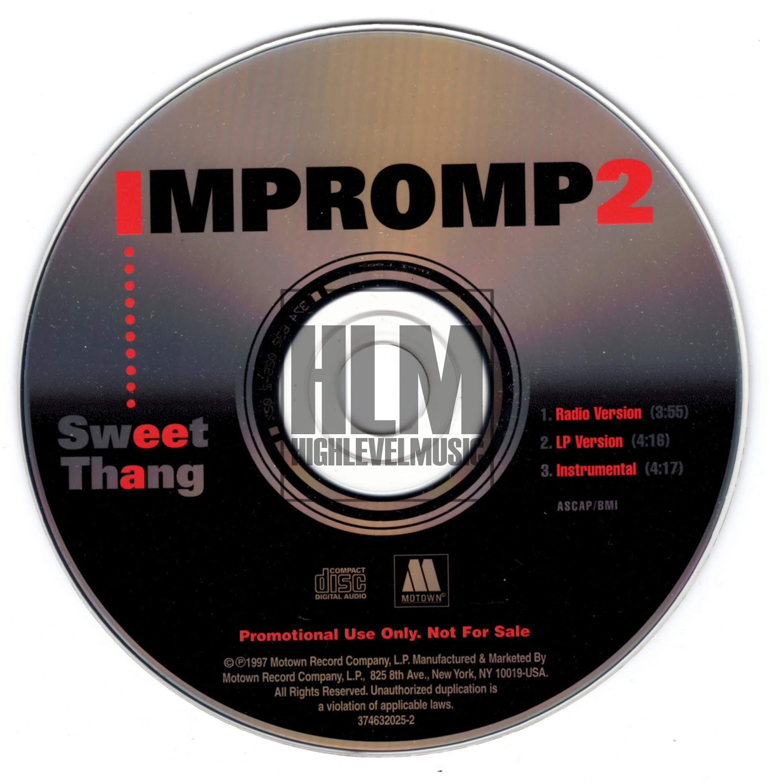 highest level of music: Impromp2 - Sweet Thang-(Promo_CDS)-FLAC-1997-hlm