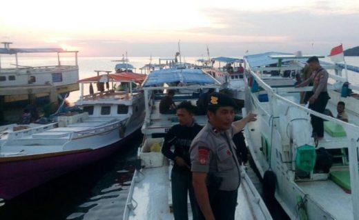 Berantas Illegal Fishing, Polres Selayar, Ringkus Pembius Dan Pembom Ikan Di Takabonerate