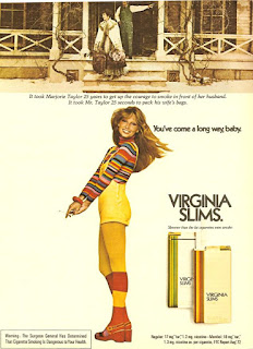 Virginia Slims - You've come a long way baby!