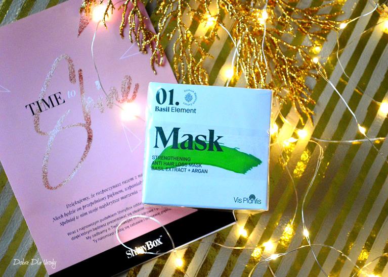 Vis Plantis Maska do włosów z serii Basil Element
