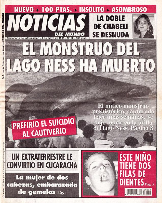 Periódico Noticias del Mundo Número 32