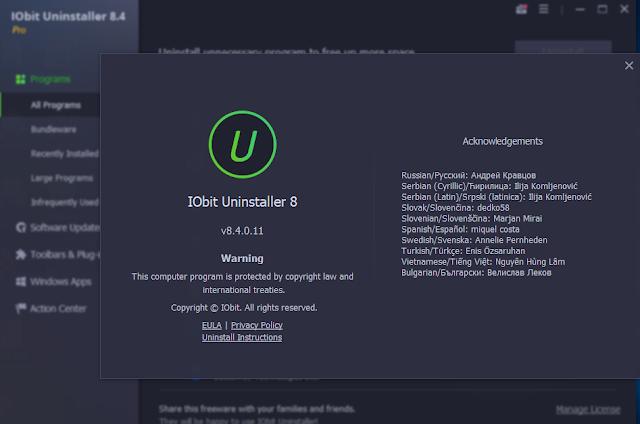 IObit Uninstaller Pro 8.4.0.11 Repack