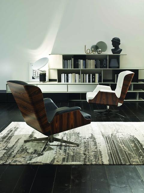 modern mid century armchair