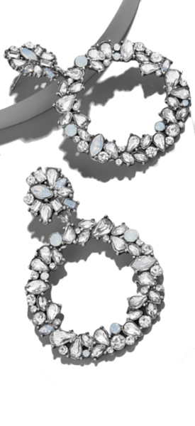 BAUBLEBAR ANDORRA HOOP EARRINGS