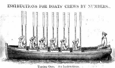 ROWING FOR PLEASURE: Tossing Oars