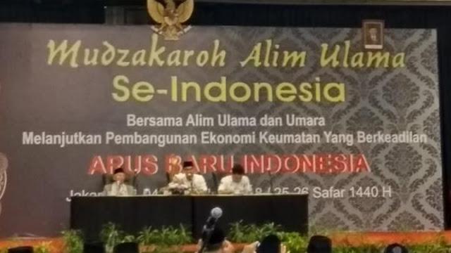 Yakin Jokowi Amanah, Alim Ulama se-Indonesia Sepakat Kasih Dukungan