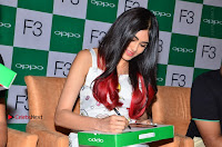 Bollywood Actress Adah Sharma Pos in White Printed Short Dress at OPPO F3 Plus Selfie Expert Mobile Launch .COM 0068.jpg